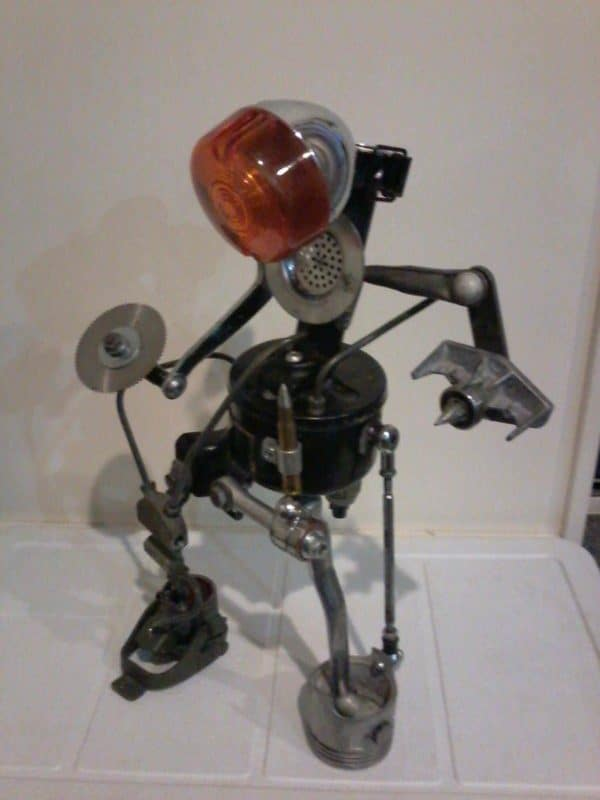 Recycled Robots Recycled Art