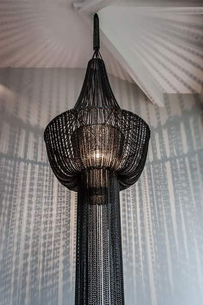 Chandelier Made of 450 Recycled Bike Chains Lamps & Lights Upcycled Bicycle Parts