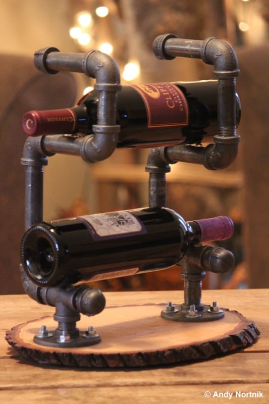 14 Original Wine Racks From Recycled Materials Accessories
