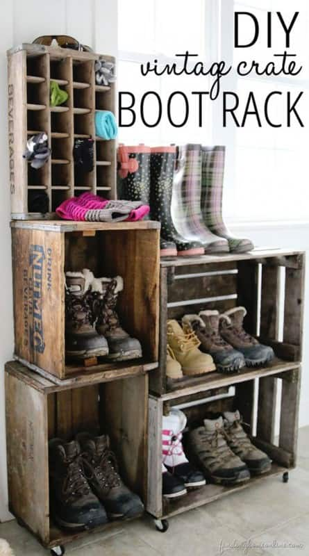 12 Upcycled Crate ideas 10