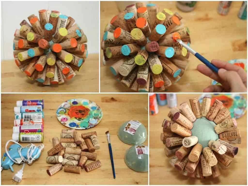 Recycled Wine Corks into Sphere (Tutorial) • Recyclart