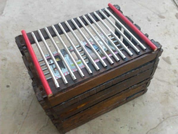 Tomatoe Crate Book Shelf Recycled Furniture Recycled Pallets
