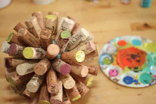 Recycled Wine Corks into Sphere (Tutorial) Do-It-Yourself Ideas Recycled Cork