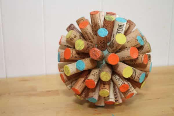 Recycled-wine-cork-globe-ball-tutorial6