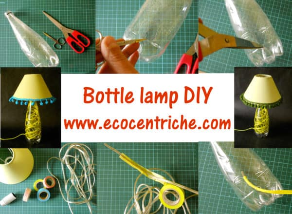 Plastic Bottle Lamp Do-It-Yourself Ideas Lamps & Lights Recycled Plastic
