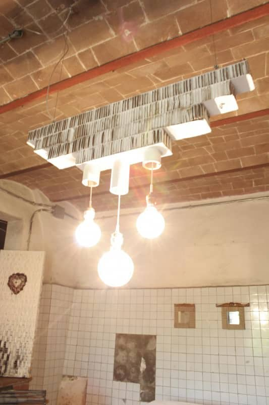 Lampada in Cartone / Cardboard Pendant Lamp Lamps & Lights Recycled Cardboard