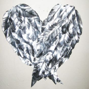 Recycled Aluminum Can - Angel Wings Wall Art