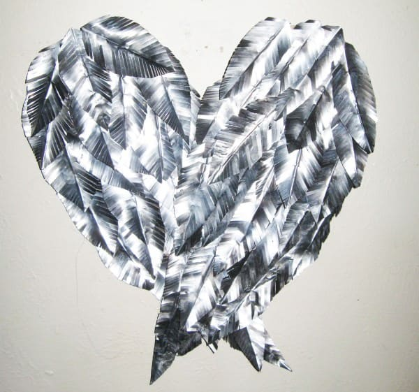 Recycled Aluminum Can – Angel Wings Wall Art Do-It-Yourself Ideas Recycled Art Recycling Metal