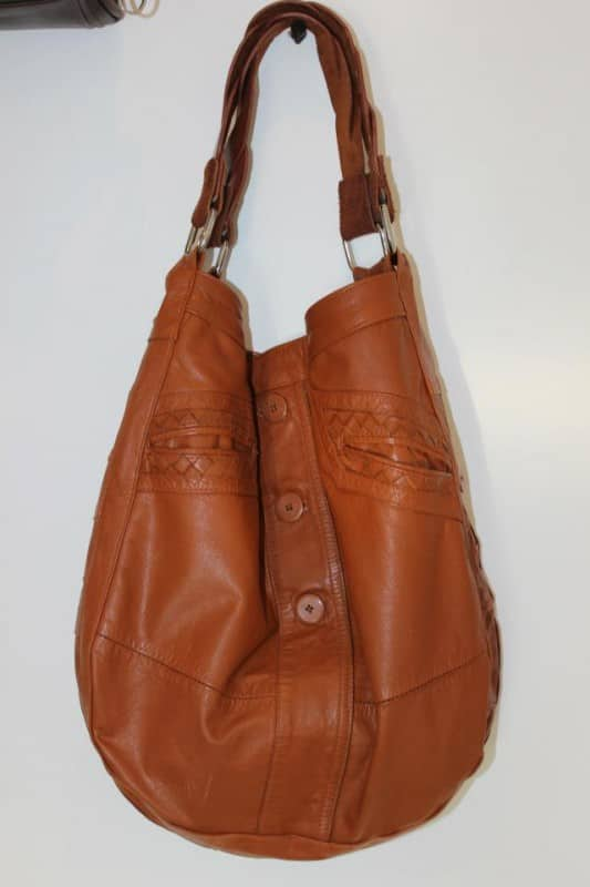 Upcycled Leather Jacket To Bag Recyclart