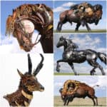 John Lopez Metal Sculptures