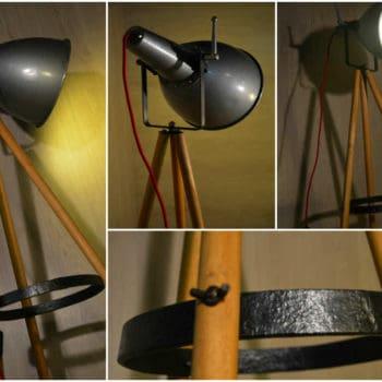 Projecteur scandinave industriel / Scandinavian industrial projector