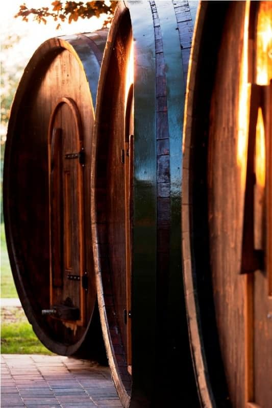 Wine Barrel Hostel Home Improvement Wood & Organic