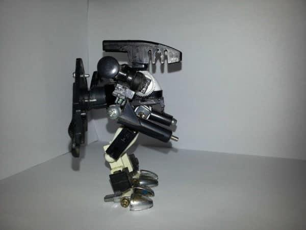 Scrap Robots Art Recycled Art