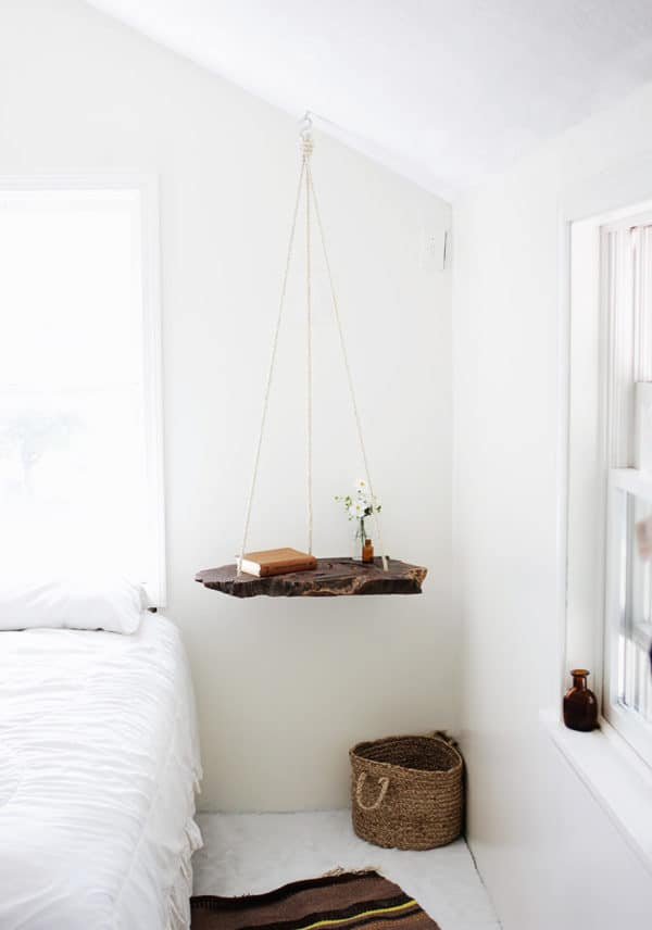 Diy: Wood Log Into Pendant Table Do-It-Yourself Ideas Wood & Organic