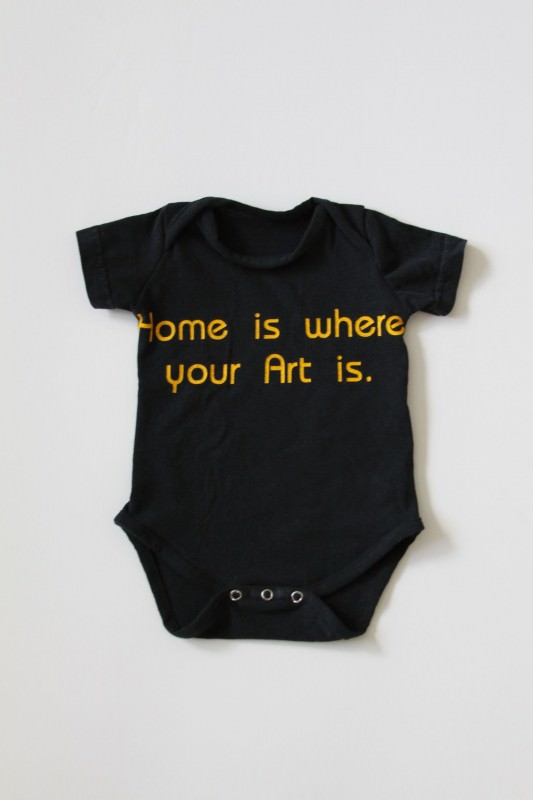 Recycled T-shirts Transformed into Baby Onesies and Toddler Leggings Clothing