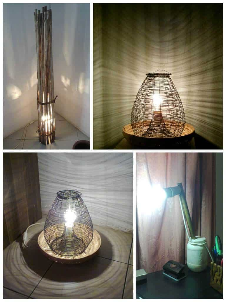 Creative Lamps • Recyclart