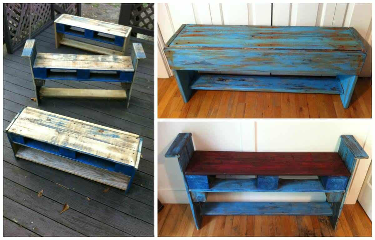 Blue Pallet Creations by Something Southernelle • Recyclart