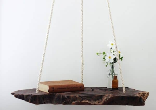 Diy: Hanging Table Recycled Furniture Wood & Organic