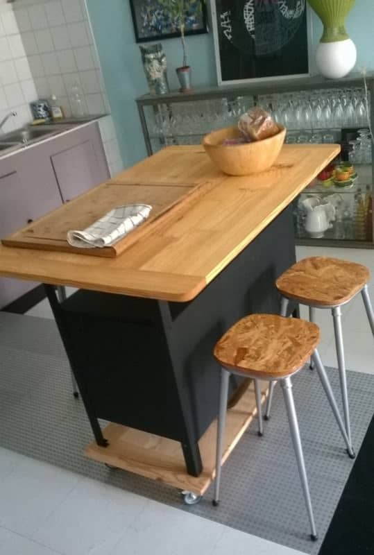 Kitchen Cabinet Recycled Furniture