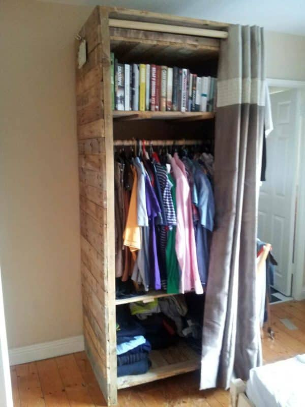 Pallets Wardrobe Recycled Pallets