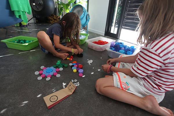 Clip It: Educational, Creative and Sustainable Game, 90% Upcycled! Interactive, Happening & Street Art Recycled Plastic