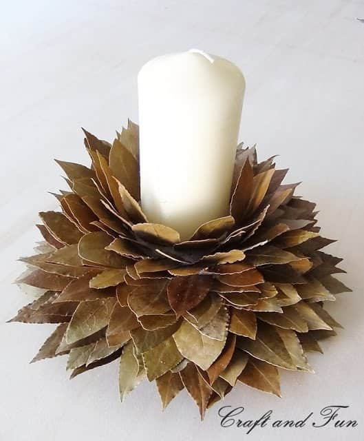 Diy Christmas Decorations with Leaves Do-It-Yourself Ideas