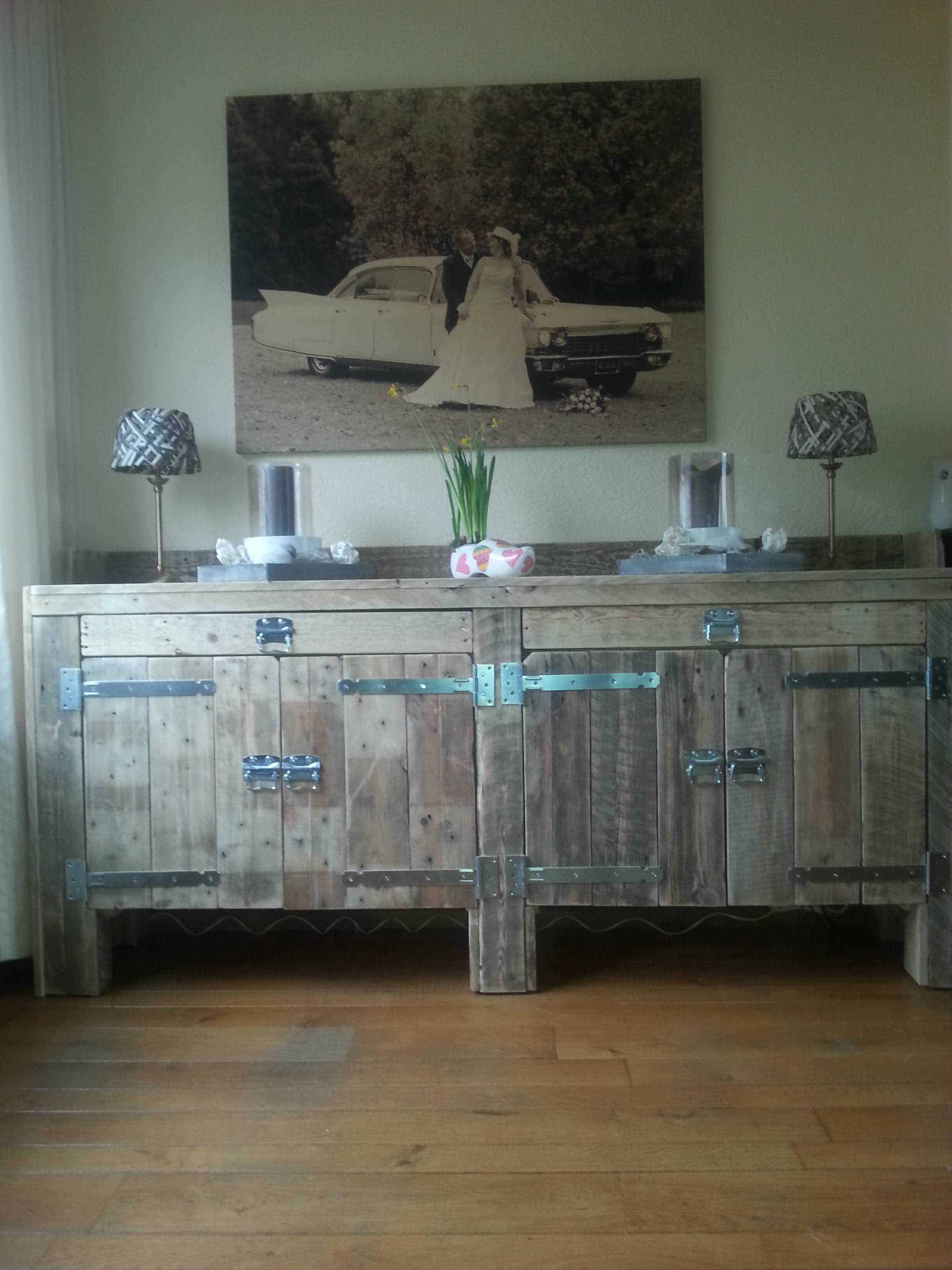 Pallets Sideboard Recyclart