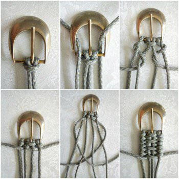 Tutorial For Weaving A Belt