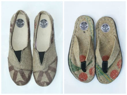 Wiwi Upcycled Footwear