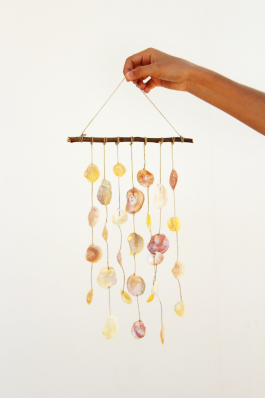 Diy: Seashell Wind Chime Accessories Do-It-Yourself Ideas