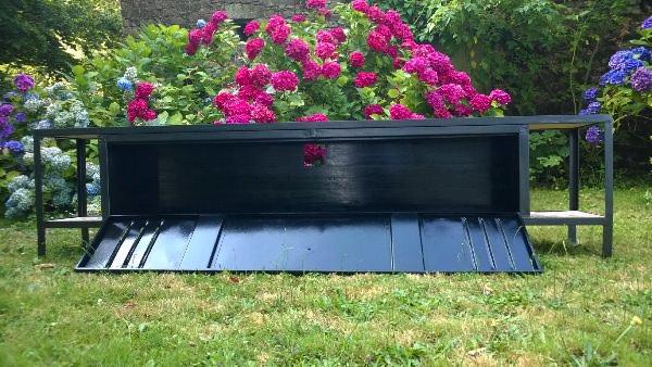 Meuble TV Avec Plateaux En Bois De Palette Recycled Furniture