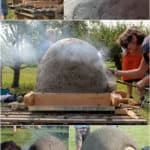 Build A Wood Fired Oven with Uncoventional Materials
