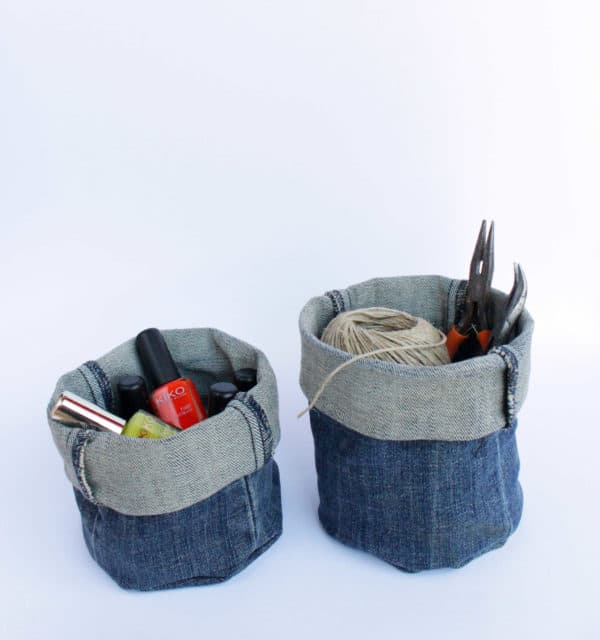Diy: Upcycled Denim Bucket Clothing Do-It-Yourself Ideas