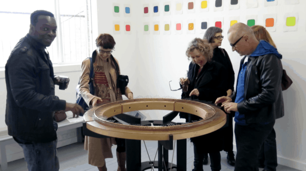 The Social Lamellaphone – A Unique Musical Instrument Interactive, Happening & Street Art Recycled Art