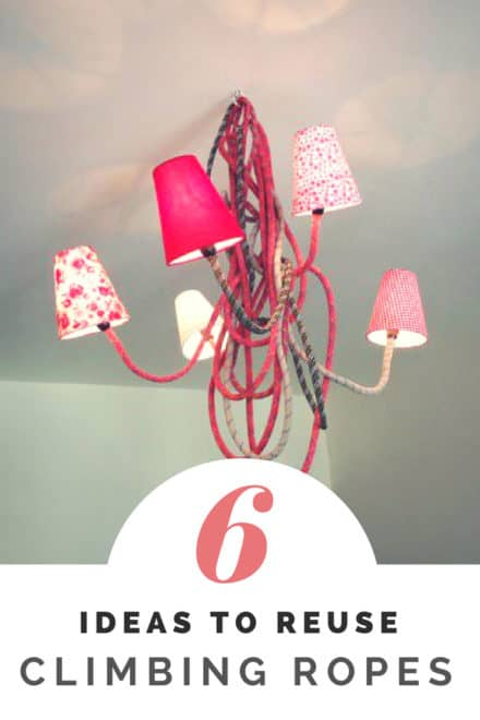 6 Ideas to Reuse Climbing Ropes