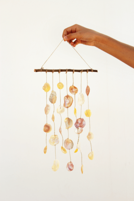 Diy: Seashell Wind Chime