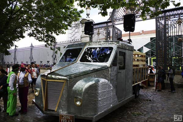 Soda Cans 1930's Pick-up Interactive, Happening & Street Art Mechanic & Friends Recycled Art