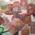 Painted Tea Bags