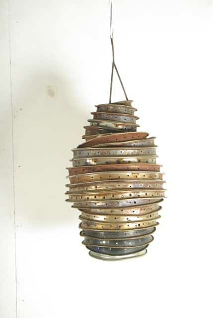 Rim Lampshade Lamps & Lights Upcycled Bicycle Parts