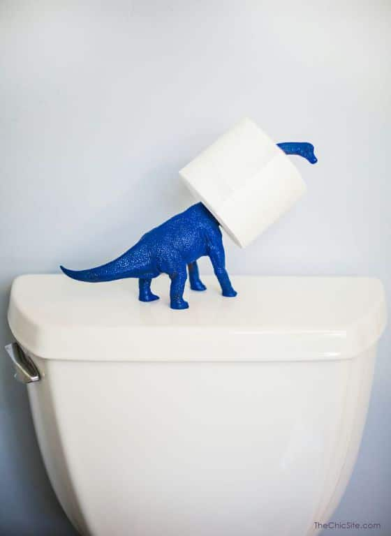 Uncommon Toilet Paper Holder Do-It-Yourself Ideas