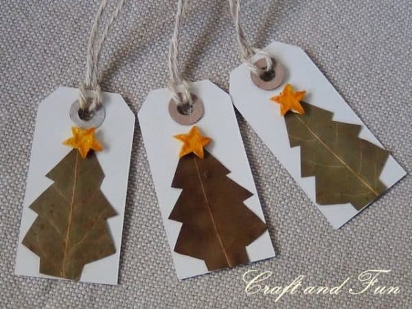 Diy make nice christmas gift tags recyclart 26rev solutioingenieria Image collections