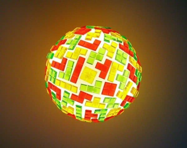 Tetris Globe Lamp Lamps & Lights