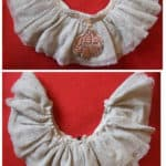 Collier Dentelle Vintage /  Vintage Lace Necklace