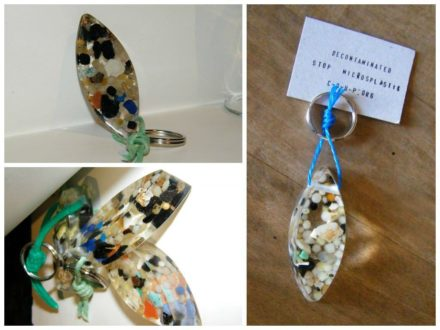 Recycled Plastic Into Key Rings