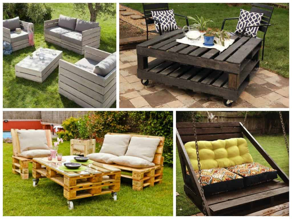 more with less recycled pallet garden ideas recyclart