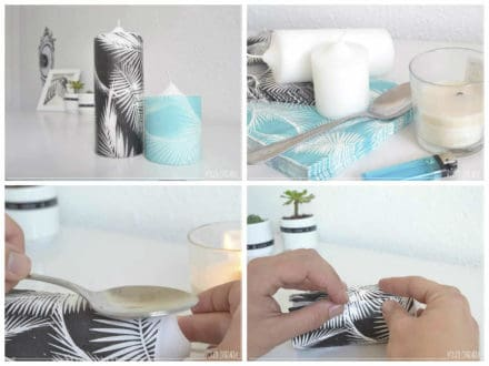 Diy: Personalized Candles