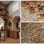 Reclaimed Wood As Gallery Décor