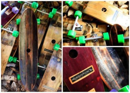 Handmade Skateboards From Wine Barrels: The Barrel Board Experience Project