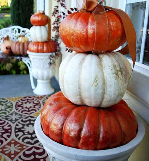Last-minute Halloween Pumpkin Decoration Do-It-Yourself Ideas