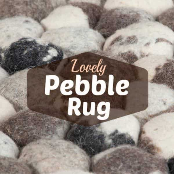 Diy Pebble Rug To Cozy Up Your Home Do-It-Yourself Ideas